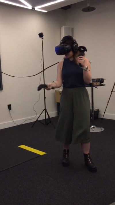 'Virtual Reality, bring it on'