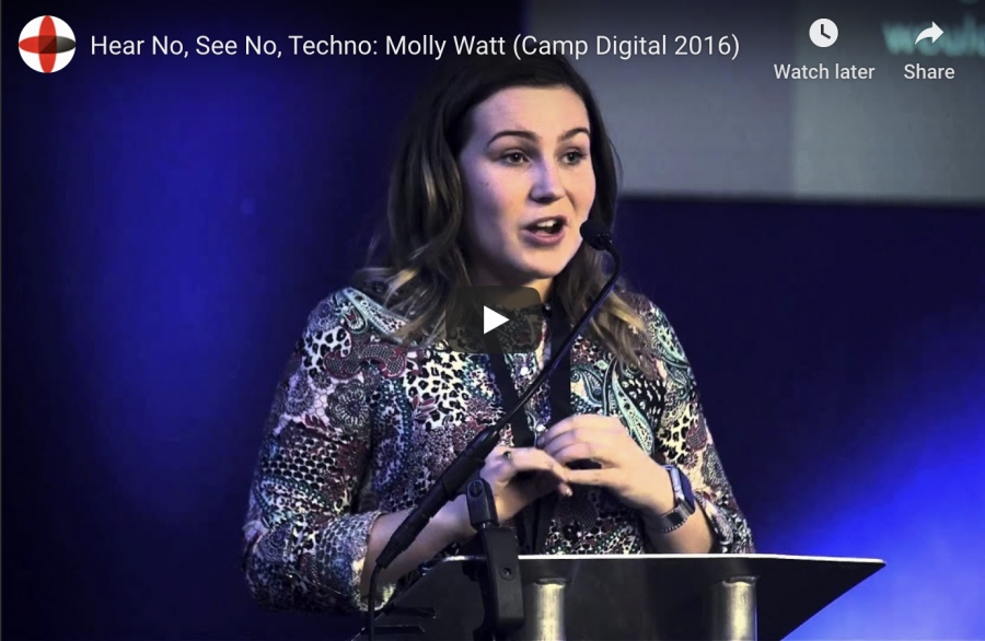 Hear No, See No, Techno: Molly Watt (Camp Digital 2016)